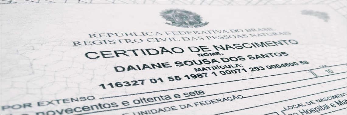 Certificado, Acta, Partida de nacimiento traducida mediante Traducción Jurada