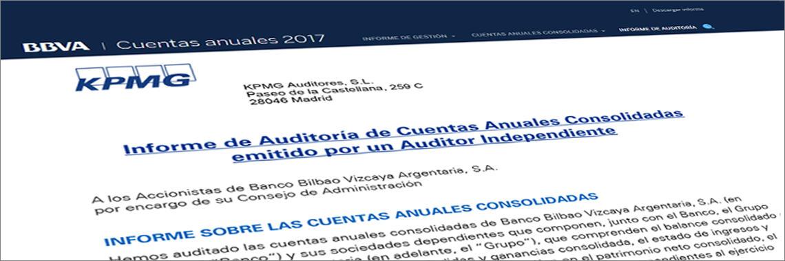 Informe de Auditoría de Cuentas Anuales en Español