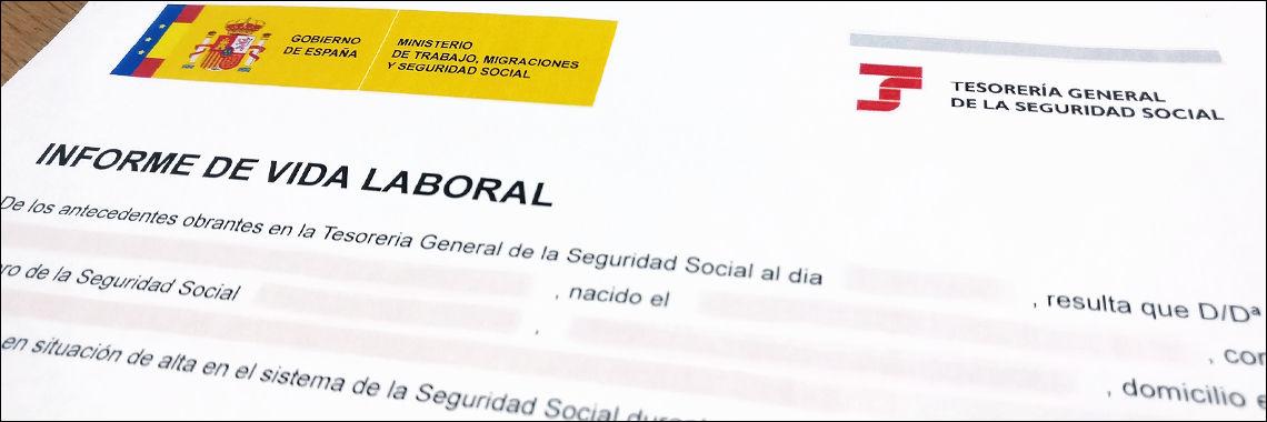 Informe Vida Laboral en Español